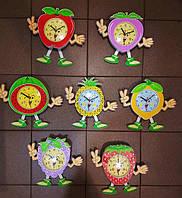 Детские настенные часывеселые фрукты