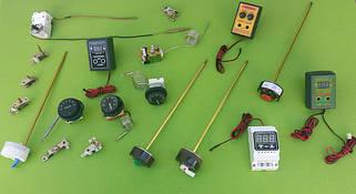 3) Терморегуляторы, термостаты капиллярные, термозащита(отсекатели), реле пусковые