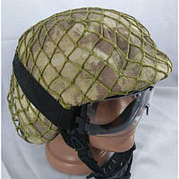 Сетка маскировочная на каску