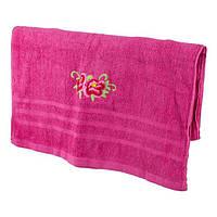 Однотонное банное полотенце 140*70