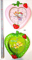 Детские настенные часыКлубничка