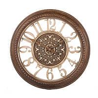 Часы в классическом стиле 41см пластик