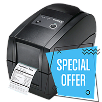 Принтер Godex RT200 (без коробки, новый в полном комплекте)
