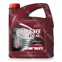 Масло моторное синтетическое Favorit Ultra XFE 5W-40 4 литра