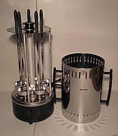 Электрическая шашлычница помощница-6 с таймером на 40 мин.