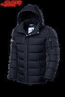 Зимняя куртка черная Braggart Aggressive 1557A