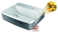 Optoma W320UST ультра короткофокусный 3D видео проектор WXGA яркость 4000 ANSI