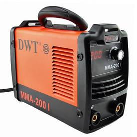 Зварювальний інвертор DWT MMA-200 I