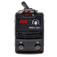 Сварочный инвертор DWT MMA-200 I, фото 2