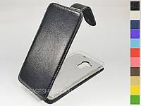 Откидной чехол из натуральной кожи для Acer Liquid Z500 Dual Sim