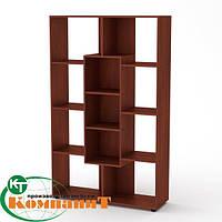 Шкаф книжный КШ-4 яблоня Компанит