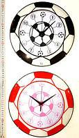 Детские настенные часыФутбольный мяч