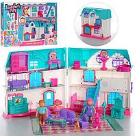 Кукольный домик с фигурками 1205 CD, фото 1