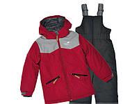 Зимний термо костюм детский куртка и полукомбинезон Perlim Pinpin. арт. VH263 В