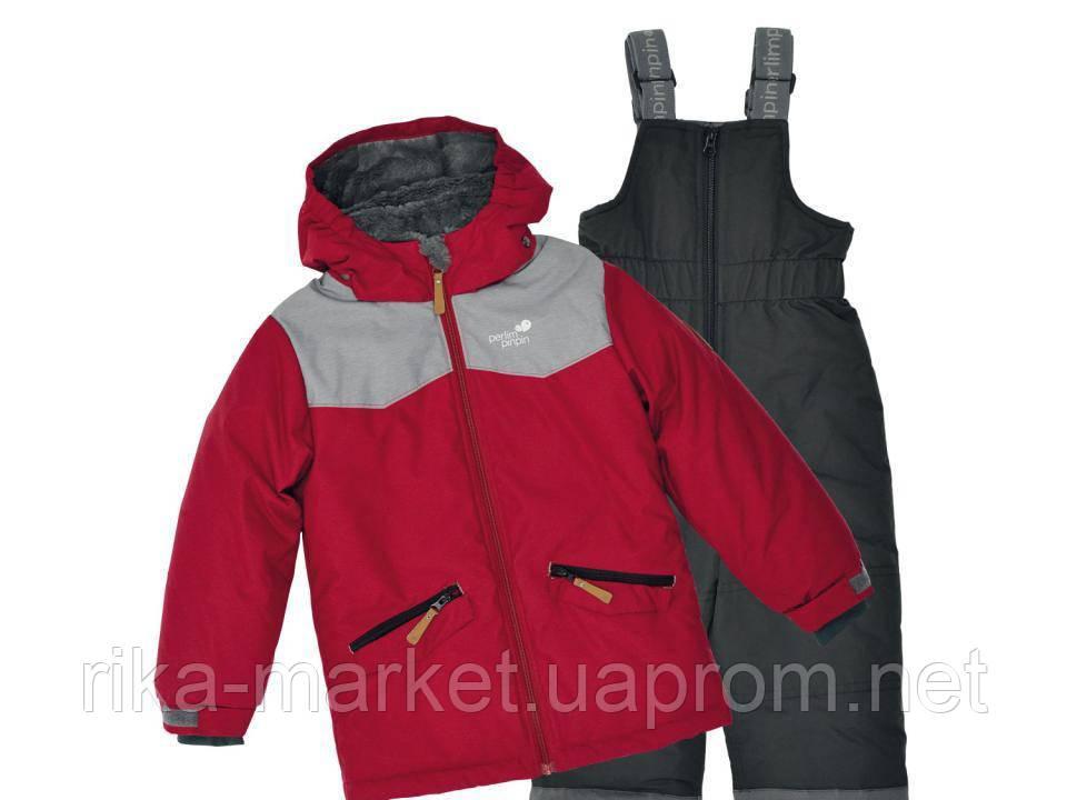 Зимний термо костюм детский куртка и полукомбинезон Perlim Pinpin. арт. VH263В-1 1 - 12 лет