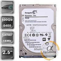 """Жесткий диск 2.5"""" 500Gb Seagate ST500LT012 (16Mb/5400/SATAII) БУ"""