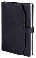 Ежедневник А5 датированный 2018 Buromax Credo, черный (кремовый блок) BM.2130-01