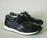 Туфли для девочки ТМ Apawwa.MaiQi чёрного цвета 26, 29р, фото 1