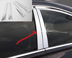 Пленка на дверные стойки Chevrolet Aveo T200 2002-2008