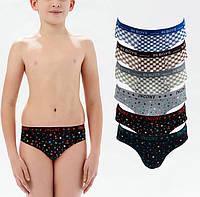 Трусы плавки на мальчика Incont 211 9-11. Размер 9-11 лет. В упаковке 6 штук