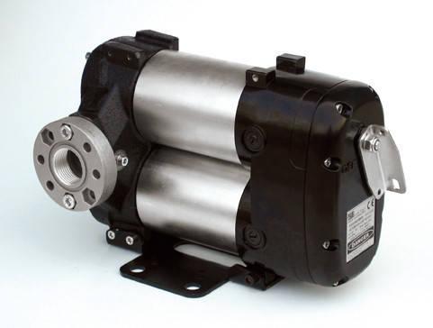 Flexbimec 6257 - Шиберный насос для перекачивания дизельного топлива 80 л/мин, фото 2