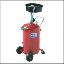 Установка cбора отбора масла емкостью 90л. с стальным сливом 10л.