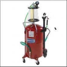 Установка вакуумного отбора масла емкостью 90л. с предкамерой 10л.