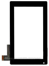 "Тачскрин (сенсор) 7"" Prestigio MultiPad PMP3370B (p/n: F0267/KDX, С097162A1 DRFPC065T-V1.0), black (черный)"