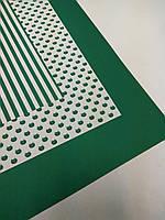 Бумага упаковочная (зеленая)