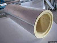 Сегменты ППУ ф 377 с покрытием фольгопергамина