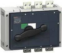 Выключатели нагрузки Interpact INS630b-2500 с черной рукояткой