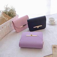 Деловая женская сумка сундук на цепочке