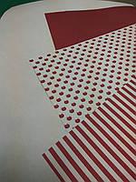 Упаковочная бумага (бордовый)