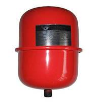 Мембранний розширювальний бак Zilmet CAL-PRO 8л для систем опаленя