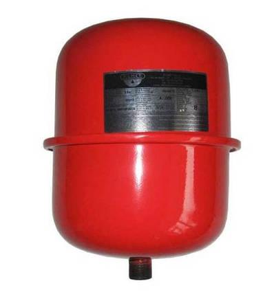 Мембранний розширювальний бак Zilmet CAL-PRO 8л для систем опаленя, фото 2