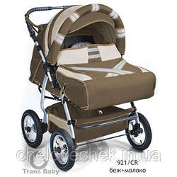 Универсальная коляска-трансформер Trans baby Taurus Duo 921/CR