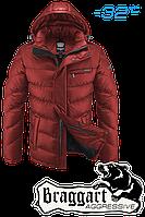 Куртка мужская зимняя оранжевая Braggart Aggressive K2619F