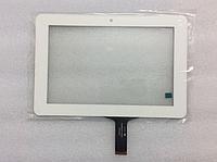 Оригинальный тачскрин / сенсор (сенсорное стекло) Ainol Novo 7 Venus (белый C182123A1-FPC659DR-04 самоклейка)