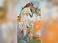 Мозаика по мотивам работ Альфонса Мухи