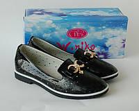 Туфли для девочки ТМ W.Niko чёрного цвета 34р, фото 1