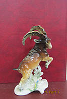 Старинная статуэтка Горный козел Германия Карл Энс