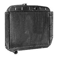 Радиатор водяного охлаждения ЗИЛ 130 ( 3-х  рядный, медный) (производство Иран)