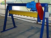 Шнековая фреза для торцовки верхней части массива (горбушки) газобетона или пенобетона