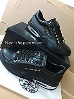 Кроссовки в стиле  Philipp Plein Piction Black, фото 1
