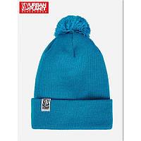 Теплая комфортная шапка Pom. Стильный дизайн. Хорошее качество. Доступная цена. Дешево. Код: КГ1798