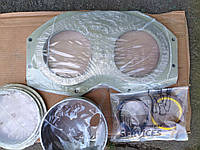 Очковая (изнашиваемая, шиберная) плита 240111005, Шиберное (режущее) кольцо 251026008