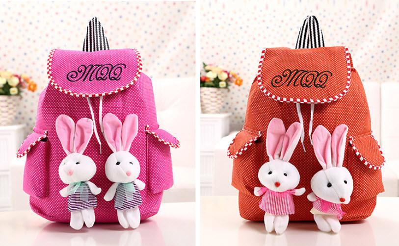 Милые рюкзаки с зайчиками!