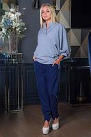 Блузка Эллария ББЭ 0341 серый, фото 1