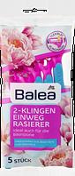 Одноразові станки для гоління Balea 2-Klingen Einwegrasierer, 5 St