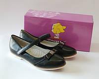 Чёрные туфли для девочки ТМ ТОМ.М 37р, фото 1
